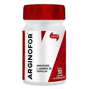 Arginofor aminoácido l-arginina - 30 cápsulas - Vitafor Val 06/2020