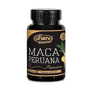 Maca Peruana Premium - 60 Cápsulas - Unilife
