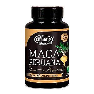 Maca Peruana Premium - 120 Cápsulas - Unilife