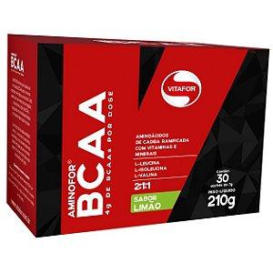 Aminofor BCAA - 30 Sachês de 7 Gramas - Vitafor