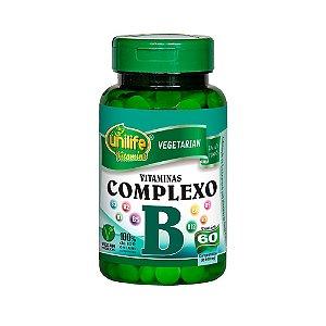 Complexo B - 60 cápsulas - Unilife