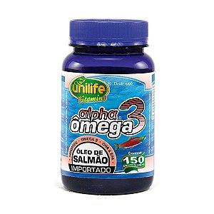 Ômega 3 Alpha (Óleo de Salmão) - 150 Cápsulas - Unilife