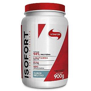 Isofort (Whey Protein Isolado) - 900 Gramas - Vitafor