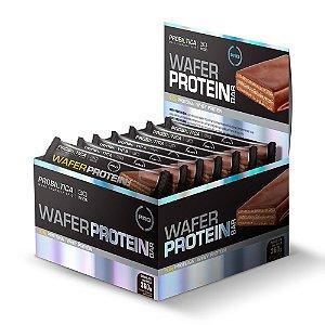 Wafer Protein Bar - 12 unidades de 30 Gramas - Probiótica