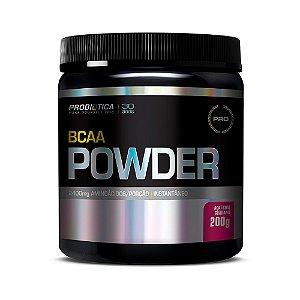 BCAA Powder - 200 Gramas - Probiótica Açaí com Guaraná