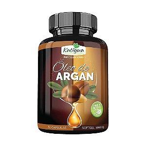 Óleo de Argan - 60 cápsulas - Katigua