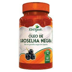 Óleo de Groselha Negra - 60 Cápsulas - Katigua