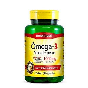 Ômega 3 - 60 Cápsulas - Maxinutri