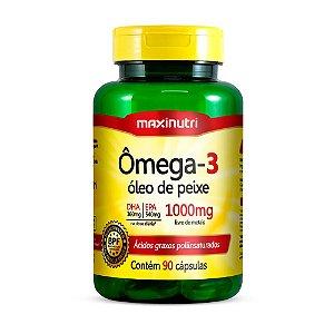 Ômega 3 - 90 cápsulas - Maxinutri