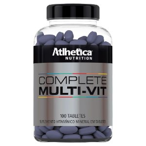 Multivitamínico Complete - 100 Tabletes - Athletica