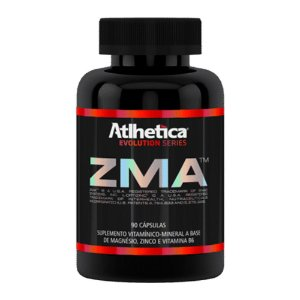 ZMA (Zinco, Magnésio e Vitamina B6) – 90 cápsulas - Atlhetica