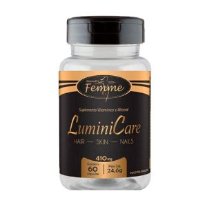 LuminiCare (Hair Skin & Nails) - 60 Cápsulas - Apisnutri