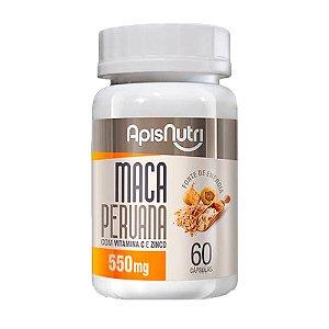Maca Peruana - 60 cápsulas - Apisnutri