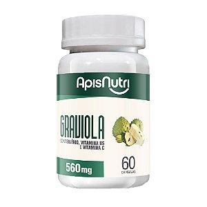 Graviola - 60 Cápsulas - Apisnutri