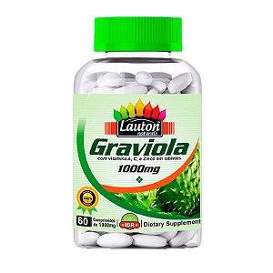 Graviola 1000mg - 60 Comprimidos - Lauton