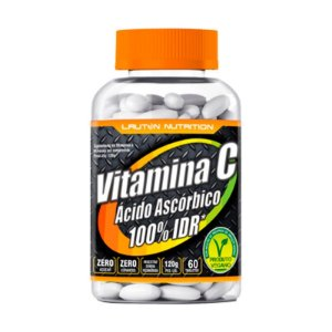 Vitamina C (Ácido Ascórbico) - 60 Tabletes - Lauton