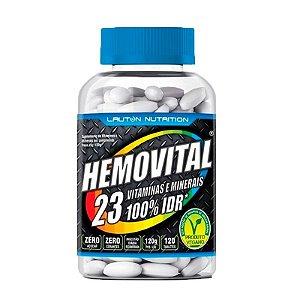 Multivitamínico Hemovital - 120 Tabletes - Lauton