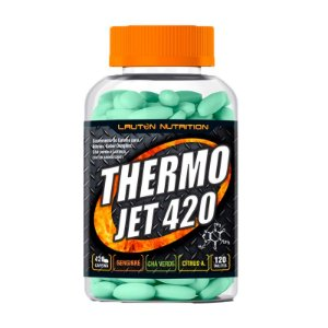Thermo Jet 400 (Termogênico) - 120 Tabletes - Lauton