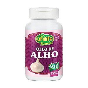 Óleo de Alho - 100 Cápsulas - Unilife