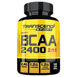 BCAA 2400 2:1:1 - 120 Cápsulas - Katigua Transcend Sport