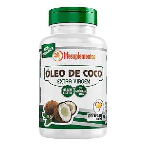 Óleo de Coco Extra Virgem - 120 Cápsulas - Melcoprol