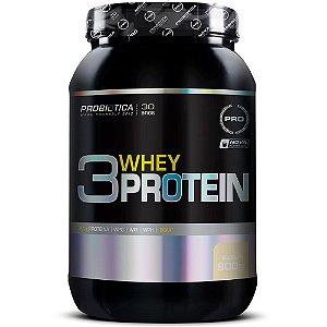 3 Whey Protein - 900 Gramas - Probiotica