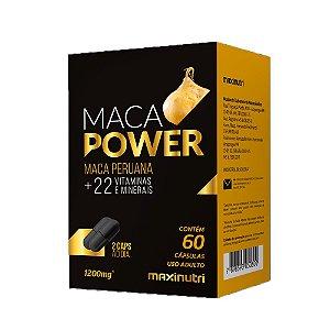 Maca Peruana Power com vitaminas - 60 Cápsulas - Maxinutri