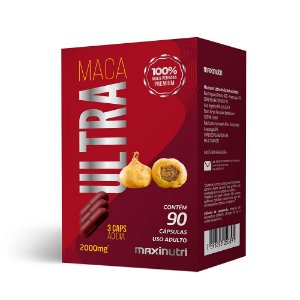 Maca Peruana Ultra - 90 Cápsulas - Maxinutri