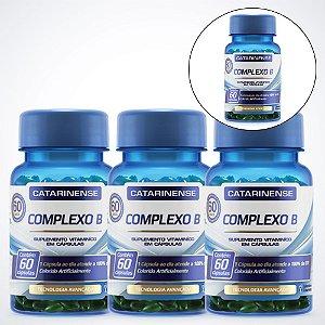 Complexo B - 60 cápsulas - Catarinense