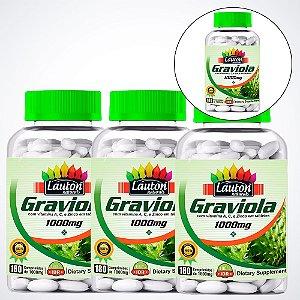 Graviola 1000mg - 180 Comprimidos - Lauton