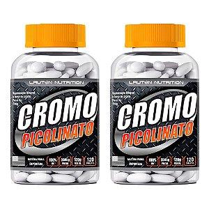 Picolinato de Cromo - 2x 120 Tabletes - Lauton
