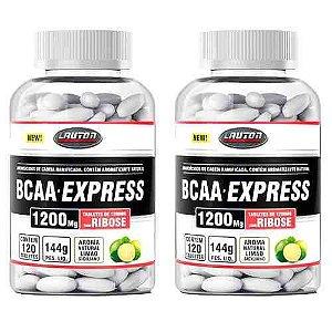 BCAA Express 1200mg - 2x 120 Tabletes - Lauton