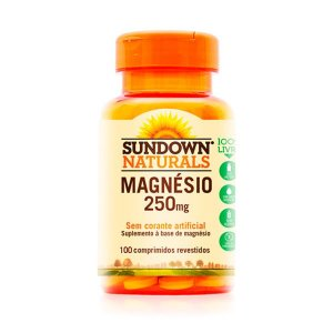 Magnésio 250mg - 100 Comprimidos - Sundown