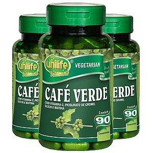Kit Café Verde Em Cápsulas Unilife Vitamina C 270 Cáps