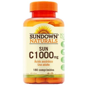 Vitamina C 1000mg - 180 Comprimidos - Sundown