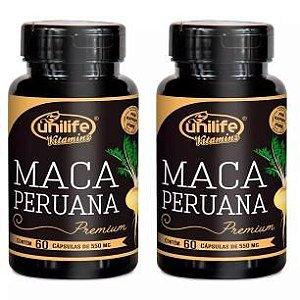 Maca Peruana Premium - 2x 60 Cápsulas - Unilife