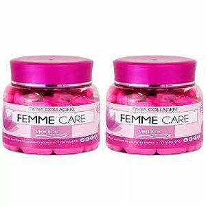 Colágeno Verisol Femme Care - 2x 90 Cápsulas - Unilife