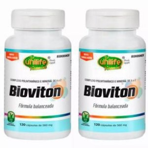 Multivitamínico Bioviton - 2 unidades de 120 Cápsulas - Unilife