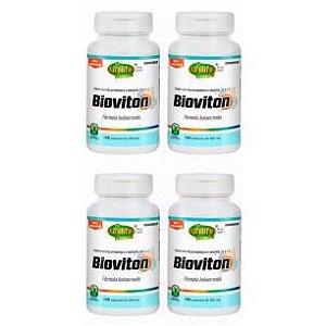 Multivitamínico Bioviton - 4 unidades de 120 Cápsulas - Unilife