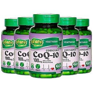 Coenzima Q10 - 5 unidades de 60 cápsulas - Unilife