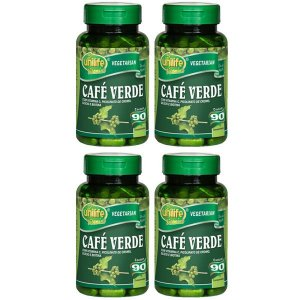 Café Verde - 4 unidades de 90 Comprimidos - Unilife