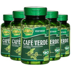Café Verde - 5 unidades de 90 Comprimidos - Unilife