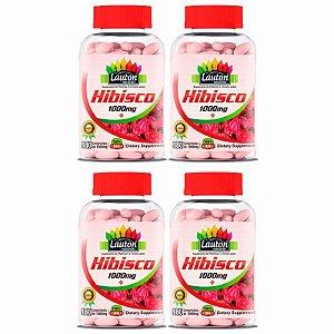 Hibisco 1000mg - 4x 180 Comprimidos - Lauton