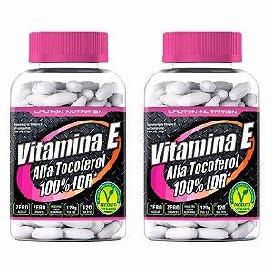 Vitamina E (Alfa Tocoferol) - 2x 120 Tabletes - Lauton