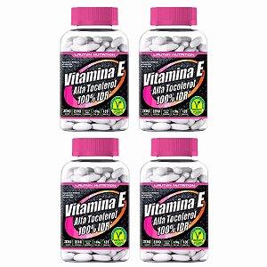 Vitamina E (Alfa Tocoferol) - 4x 120 Tabletes - Lauton