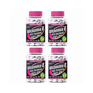 Vitamina E (Alfa Tocoferol) - 4x 60 Tabletes - Lauton