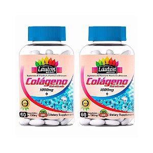 Colágeno Hidrolisado 1000mg - 2x 60 Comprimidos - Lauton