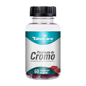 Picolinato Se Cromo Take Care Emagrecedor 60 Cápsulas