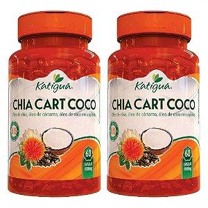 ChiaCartCoco - 2 unidades de 60 Cápsulas - Katigua