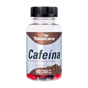Cafeína - 60 Cápsulas - Take Care